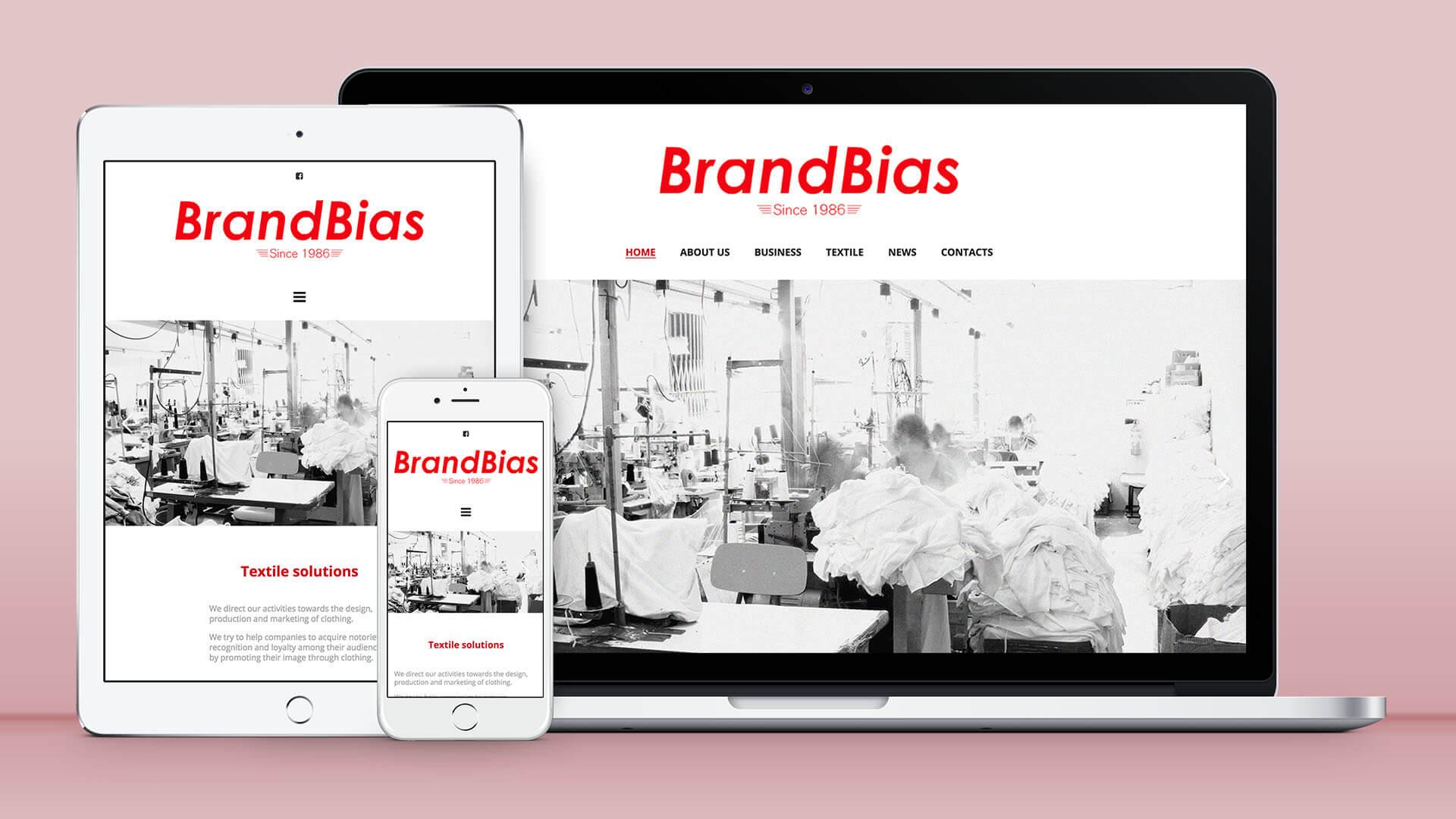 Site institucional BrandBias