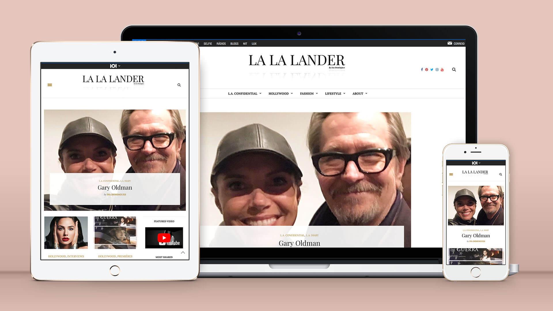 Blog LA LA Lander Iva Domingues