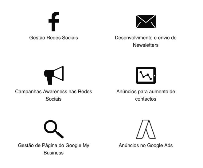 Pacotes de Marketing Digital
