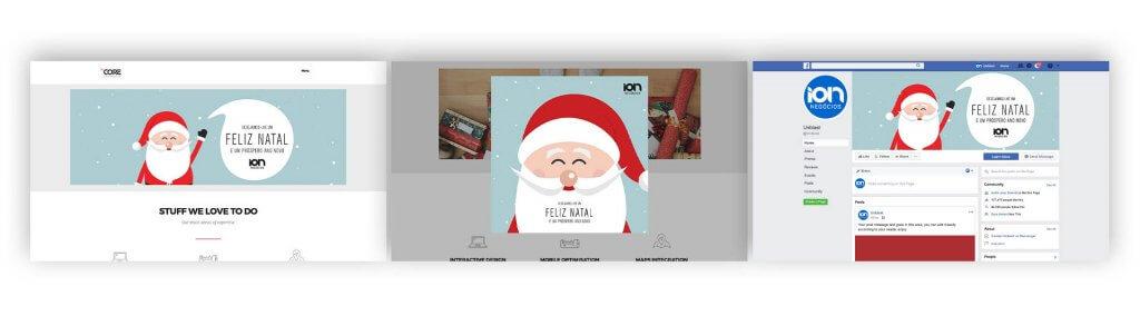 Decoração de Natal para sites